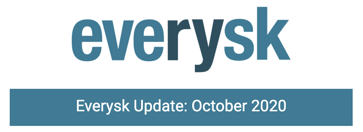 Everysk Update: October 2020