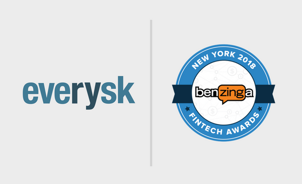 Everysk nominated for the Benzinga awards 2018
